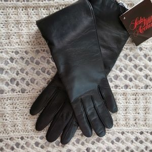 NWT💞VINTAGE CASHMERE ITALIAN LEATHER GLOVES 💞